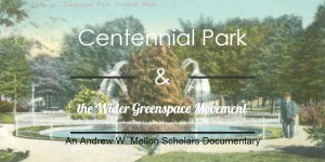 Centennial Park and the Wider Greenspace Movement